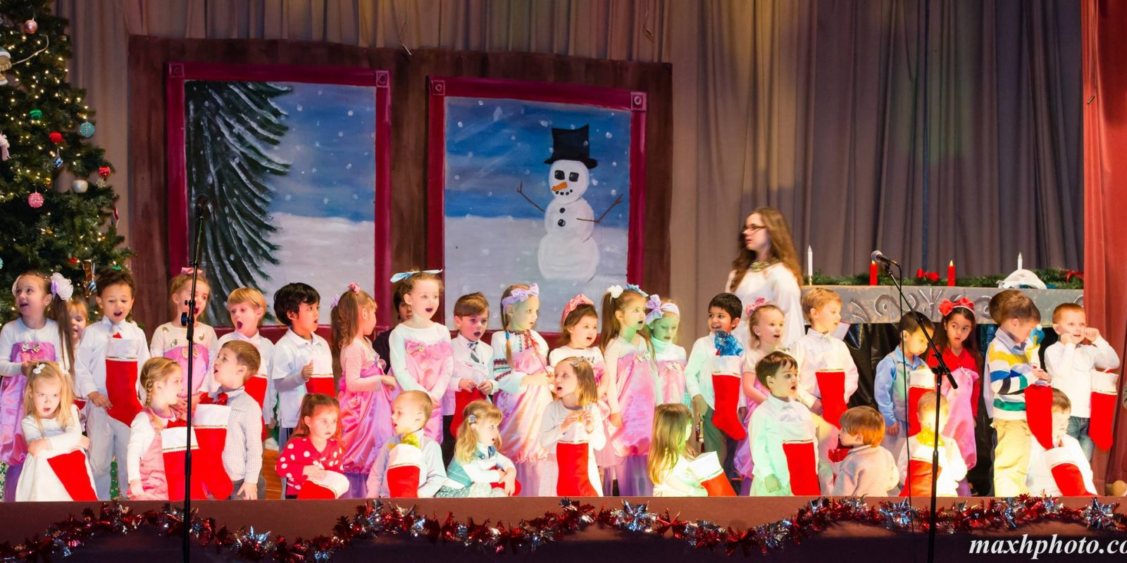 "Our ""A Tree Lot Christmas"" Play is December 9th!"